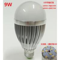 led球泡灯9W E27罗口灯泡室内家用灯泡大功率9x1瓦LED节能灯泡e27
