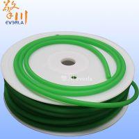 广州擎川everlar厂家批发绿色粗面10mm聚氨酯PU圆带 圆形传动带