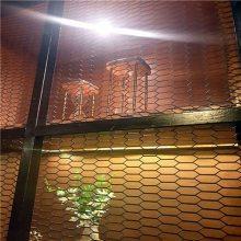 加工定做拉伸网 不锈钢钢板网 装饰六角钢板网