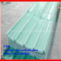 Insulated fiberglass Corrugated Frp Sheet roof translucent sheet/fiberglass