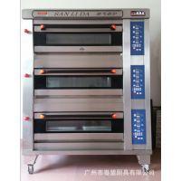 三力达供应微电脑控制三层六盘电烤箱、面包 蛋糕电烤炉