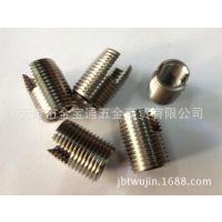 不锈钢自攻螺套 螺纹套 螺牙衬套 302型 开槽自攻牙套 M2*6L