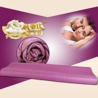 睡眠康 天然乳胶枕头 情侣双人长枕芯 低矮保健护颈枕 150cm新款