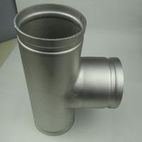 304/316L 不锈钢工业级等径耐磨滚砂沟槽三通 管件厂 天目 浙江温州水处理设备