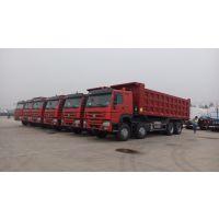 中国重汽12速豪沃自卸车