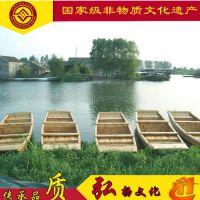 安徽山东湖北哪有木船厂家出售新品手划观光保洁船 手工艺制造小木船服务类船