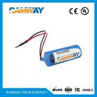 睿奕ramway 3.6v 4000mAh ER18505容量型电池