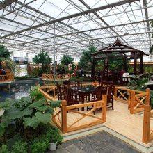 郑州|新郑|荥阳|新密温室大棚型生态餐厅设计建造厂家
