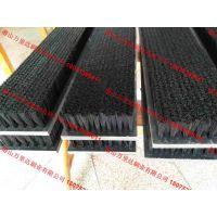 批发PVC尼龙清洗毛刷 塑料木板刷 数控冲床毛刷板 PVC平面刷