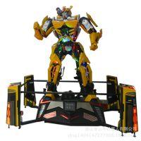 第四代变形擎天柱大黄蜂机器人帮您揽生意