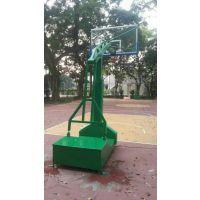 深圳东莞仿液压移动透明篮球架 康腾厂家生产 优惠多多