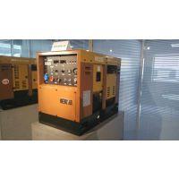 久保田柴油双缸水冷发电电焊机,纤维素焊条,低氢焊条完美使用。