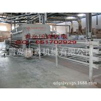 青岛国森制造利用杨木等单板生产单板层基材lvl生产线设备lvl