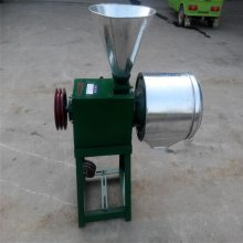 小钢磨磨面机 启航牌规格齐全小麦磨面机 小型馒头房磨面机