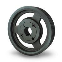 spc212-4空调压缩机皮带轮选无锡帛扬锥套皮带轮厂家
