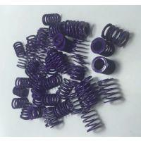 耐热耐高温弹簧|银色紫色模具弹簧批发