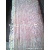 供应厂家直销优质红檀无纺布和实木木皮