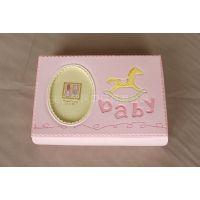 促销包邮 婴儿胎毛脐带收藏盒宝宝储物盒照片纪念品周岁生日礼品