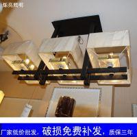 烁亮低价厂家直销 LED吊灯 新中式后现代客厅吊灯 餐厅吧台灯具