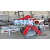 厂家低价销售圆木推台锯 多片锯 精密裁板机 木工机械