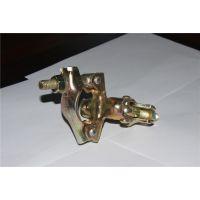 Q235 钢管扣件 英式冲压扣件 直角扣件 十字扣件 48.3MM 电镀锌