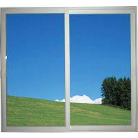 【厂家直销】PVC塑钢材料推拉窗 单层透明玻璃钢化 可按要求定做