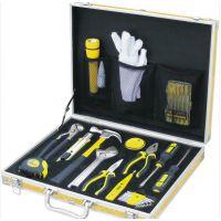 厂家批发 品牌波斯工具 29件铝合金箱家用组套 高档套装家用工具