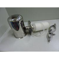 不锈钢呼吸器,不锈钢空气呼吸器 空气过滤器 卫生级快装呼吸器 纯水箱呼吸器