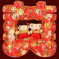 专业定制婚庆吉祥物填充毛绒玩具公仔厂家直销可打样设计