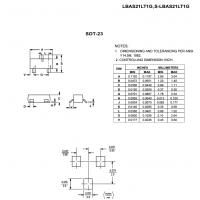 LRC开关二极管LBAS21LT1G