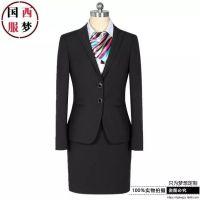 青岛开发区西服工装定做商务休闲新款职业西装正装西服制服
