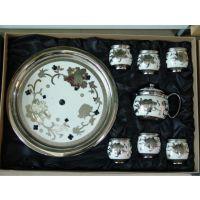釉青陶瓷茶具供应 青花陶瓷茶具供应 粉彩陶瓷餐具供应