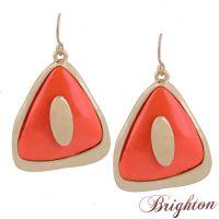 速卖通货源分销 一件代销 布莱顿饰品欧美瑞丽时尚新款几何耳环