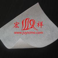 特高强丙纶短丝土工布 黑色白色热烫任意制定 规格齐全