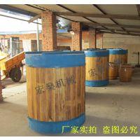 供应5吨木制酒海 不锈钢酿酒设备 宏燊供应