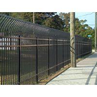 厂家直销各种规格场地围栏网@厂区方管组装围墙护栏@铁艺护栏