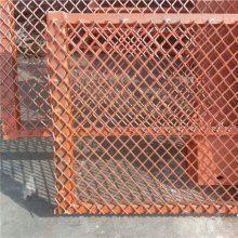 高层脚手架钢笆片 菱形排水施工网片 建筑工程钢笆片定做