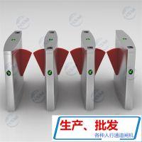 深圳鸿顺盟供应HSM-XZ使用在景区进口及出门禁不锈钢翼闸通道