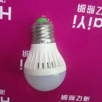 节能灯led厂家批发 220V3W声控LED球泡灯 民用家用照明灯泡