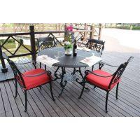 舒纳和家具户外成套i沙发|铸铝沙发| 花园铸铝豪华沙发 酒店桌椅