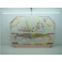 小灵稚宝宝礼盒婴幼儿用品礼盒双层带报被礼盒X49