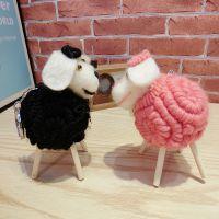 2015羊年挂件 时尚卡通韩国新款小羊汽车钥匙扣 包挂