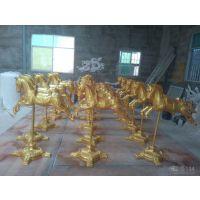 香港玻璃钢雕塑马