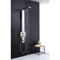 淋浴花洒喷头 经典超大镜面可调五档出水 多功能淋雨浴室莲蓬头