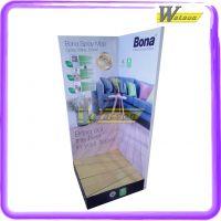 专业设计制作纸展示立牌展示架