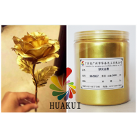 [华奎厂家]供应默克金粉24K金粉油漆涂料佛像黄金粉