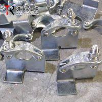 瑞涛紧固件 英式锻压固板扣件 新型建筑锻造扣件 镀锌 Q235 0.6-0.65KG EN/BS