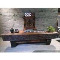 四川成都老船木茶桌老船木家具老码头船木|珠海市老船木家具厂