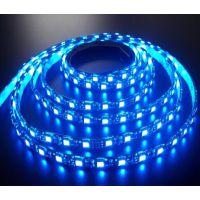 led 5050软灯条蓝光 滴胶软光条  防水软灯带  软光条