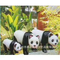 大型户外仿真动物/熊猫雕塑/铸铜工艺/小区/公园卡通动物